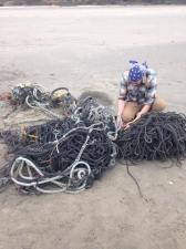 13. Zack cutting rope